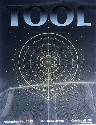 Tool DOUBLE LAYER Poster 2019 Cincinnati Heritage Limited Edition of 650 Made