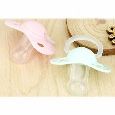Pretty Silicone Teat Nipple Soother Newborn Kids Baby Orthodontic Dummy Pacifier