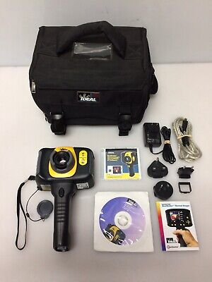 IDEAL 61-846 HeatSeeker 160 Thermal Imaging Infrared Camera with Carrying Case