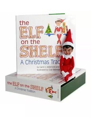 Elf on the Shelf A Christmas Tradition Girl Version Includes Storybook and Elf