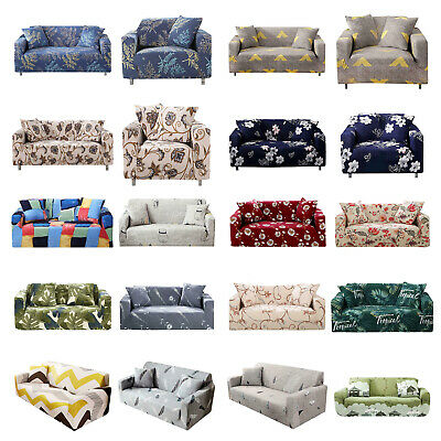 Stretch Chair Sofa Cover 1 2 3 4 Seater Couch Elastic Slipcover Protector Case