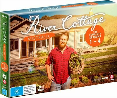 River Cottage - Australia : Series 1-4 New And Sealed (10 discs )