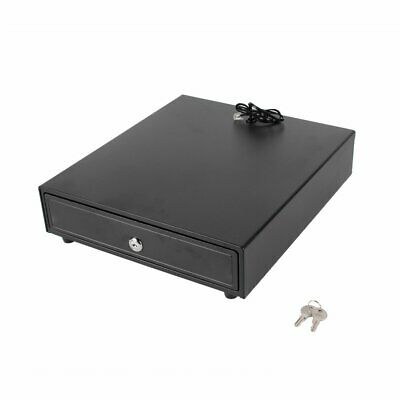Electronic Cash Drawer Manual Cash Register POS Tray 5 Bill 5 Coins Money Box 5
