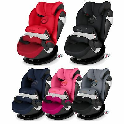 Cybex Pallas M-Fix Group 1/2/3 ISOFIX Child Car Seat 9-36kg Rebel Red