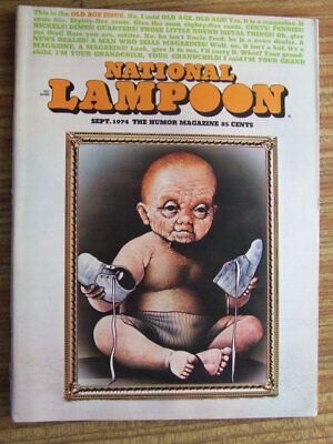 """National Lampoon"" Sep 1974.  Classic US Humour Magazine."