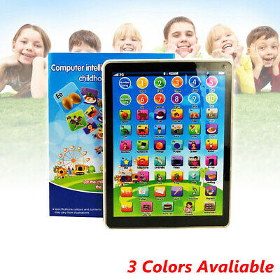 Kid Children Tablet Mini Pad Educational Learning Toys Gift for Boys Girls Baby