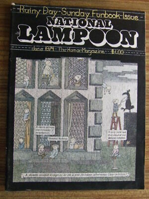 """National Lampoon"" June 1975.  Classic US Humour Magazine."