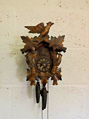 German Made G.M.Angem Cuckoo Clock. Not Working, Spares or Repair.  (Hospiscare)
