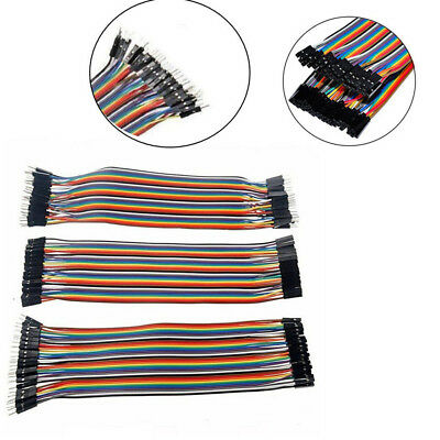 120pcs 20cm Dupont Wire Male To Male Female Jumper Cable For Arduino Breadboard