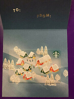New Release 2019 Winter Holiday 'All Is Bright' Starbucks Gift Card