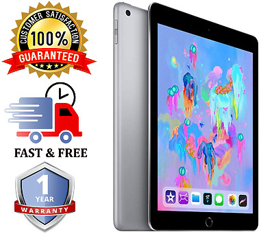"Apple iPad 6th Gen | 9.7"" - 32GB - Space Grey - WiFi - Various Grades"
