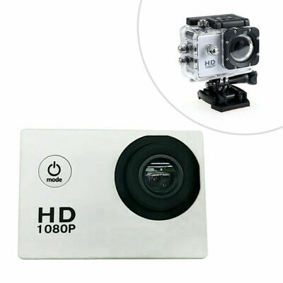 Action Camera Impermeabile 1080P HD 12MP Fotocamera Sportiva Camcorder Portable