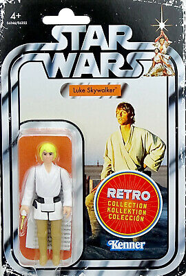 "Luke Skywalker ""A New Hope"" Star Wars Kenner The Retro Collection 2019 Hasbro"