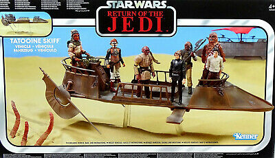 "Star Wars ""Return Of The Jedi"" - Tatooine Skiff - The Vintage Collection Hasbro"