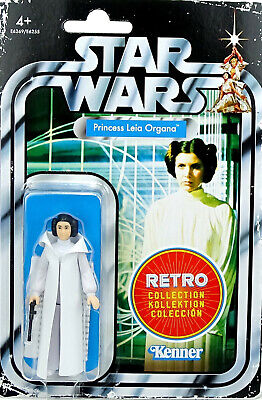 "Princess Leia ""A New Hope"" Star Wars Kenner The Retro Collection 2019 Hasbro"