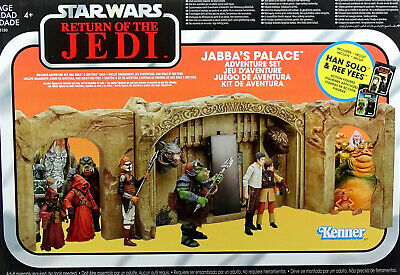 "STAR WARS ""ROTJ"" JABBA`s PALACE (KOMPLETT) THE VINTAGE COLLECTION 2019 HASBRO"
