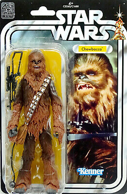 "STAR WARS 40th ANNIVERSARY COLLECTION CHEWBACCA ""A NEW HOPE"" 6"" INCH HASBRO"
