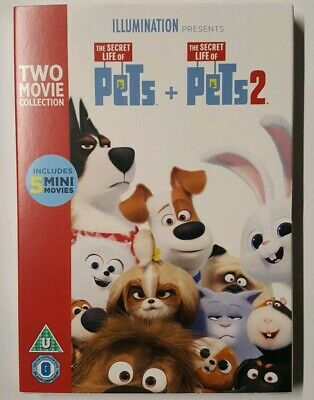 The Secret Life of Pets 1 & 2 [DVD] 🆕️BRAND NEW SEALED