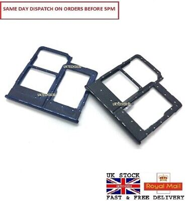 FOR Samsung Galaxy A20e Dual Sim1 / Sim 2 SM-A202 SD card holder tray slot UK