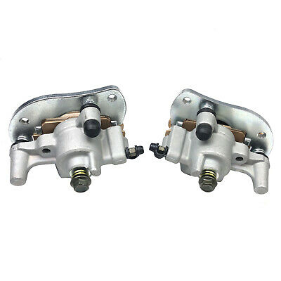 Mati Front Left /& Right Brake Caliper for 2007-2018 Yamaha ATV Grizzly 550 Grizzly 700 Kodiak 700 YFM550 YFM700 with Pads