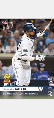 2019 Topps Now Mlb All-Star Rookie Team Card Padres Fernando Tatis Jr #Rc-5