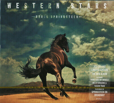 2CD Bruce Springsteen - Western Stars 2CD New Sealed  FREE SHIPPING