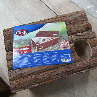 TRIXIE -  6201 Natural Living Labyrinth House For Hamsters,Mice & Other Rodents.