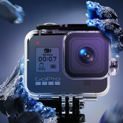 For Gopro Hero 8 Diving Protective Case Waterproof Underwater 45M Housing Shell