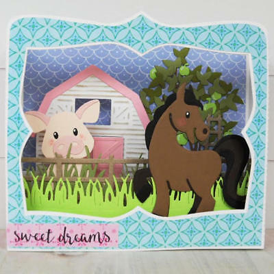 **Cutting Dies**HORSE*UNICORN**New Baby*Birthday*Scrapbook*Cards*Topper