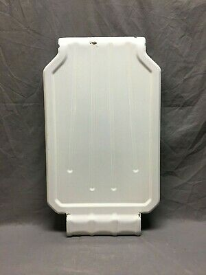 Antique Steel White Porcelain Sink Basin Cover Drainboard Vtg Kitchen 351-19J