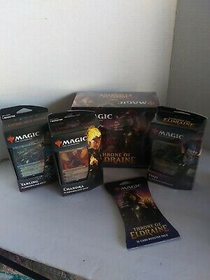 MAGIC-The Gathering-Throne Of Eldraine/Core Set 2020 Lot-Factory Sealed