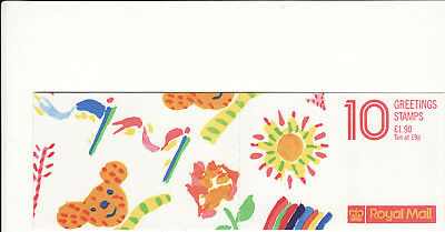 Gb Booklets Unused - 1989 Greeting Stamps £1.90 Booklet Perfs Trimmed