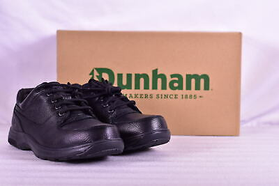 Men's Dunham by New Balance Windsor Lace Up Waterproof Oxfords, Black