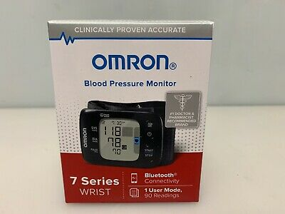 Omron BP6350 Blood Pressure Monitor 7 Series Wrist Bluetooth Heart Zone