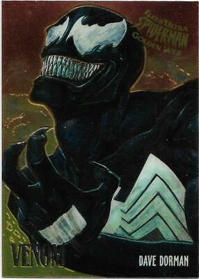 1995 Fleer Ultra Spiderman Golden Web Chrome (8) VENOM