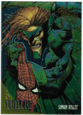 1995 Fleer Ultra Spiderman Golden Web Chrome (9) VULTURE