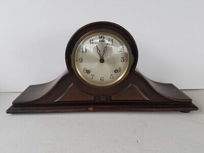 Antique Ansonia Clock Co. New York B21 Shelf Tambour Mantle Clock No. 6 Old