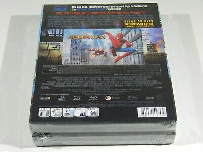 Spider-Man Homecoming 3D+2D Blu-ray Steelbook KimchiDVD ONE CLICK #077