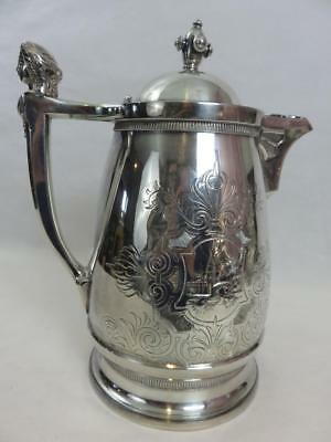 Simpson Hall Miller WONDERFUL Fancy Large Insulated WATER PITCHER / COFFEE POT