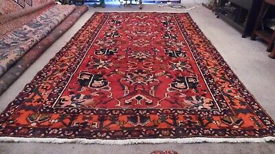 Fine Quality Genuine Antique Large Wool Hand knotted Persiann Rug Carpet Runner