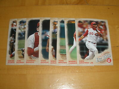 LOT OF (8) 2019 TOPPS UPDATE ESTABLISHED EST. 1869 INSERTS ALL DIFFERENT w STARS