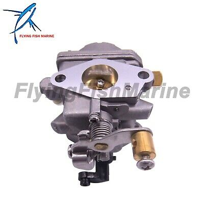 6BV-14301-11 10 21 Carburetor Assy fit Yamaha Outboard Powertec Engine F 4HP 4T