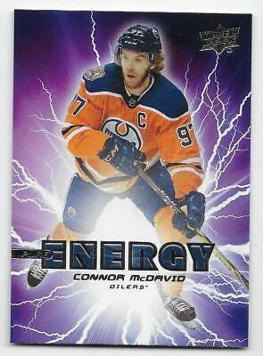 19/20 UPPER DECK SERIES 1 PURE ENERGY Hockey (#PE1-PE50) U-Pick From List