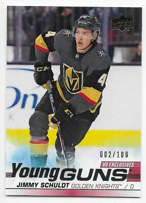 19/20 UPPER DECK SERIES 1 UD EXCLUSIVES PARALLEL /100 (#1-250) U-Pick From List