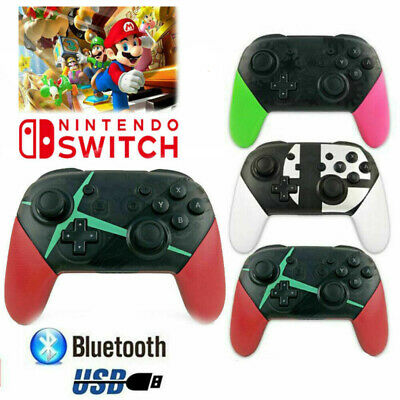 Wireless Bluetooth Pro Controller Gamepad Charging Cable for Nintendo Switch New