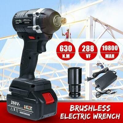 288VF 630N.M 3IN1 Brushless Cordless Electric Impact Wrench Rechargeable Driver