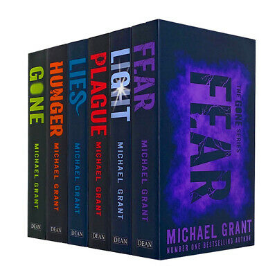 Gone Series Collection 6 Books Set By Michael Grant Inc Light Hunger Lies Plague