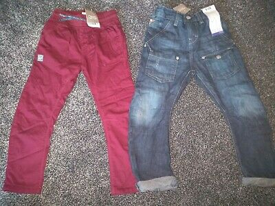 Boys Bundle Of NEXT Jeans & Trousers Age 4-5 Years BNWT