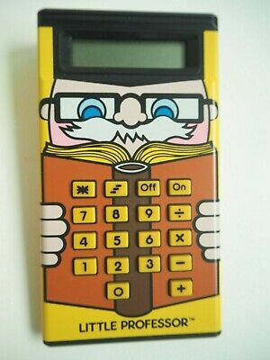 Little Professor Maths Arithmetic Calculator Texas Instruments Boxed With Manual