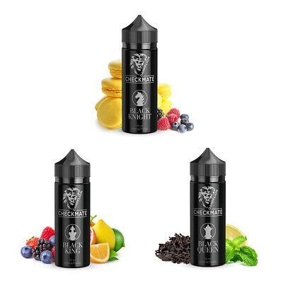 Dampflion Checkmate 3x10ml Black Queen Black King Black Knight Aroma Liquid Set